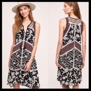 Anthro Floreat Grassland Dress